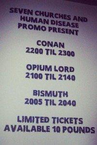Conan London show