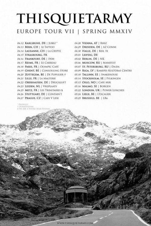 thisquietarmy tour