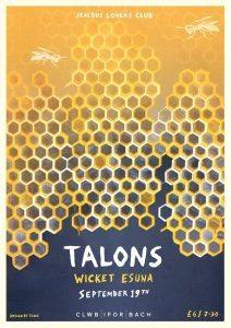19-09-2014 – Jealous Lovers Club – Talons