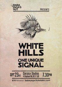 23-09-2014 – Baba Yaga's Hut – White Hills