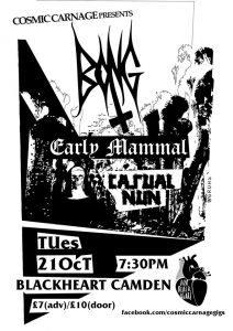 21-10-2014 – Cosmic Carnage – Bong