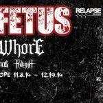 Dying Fetus tour