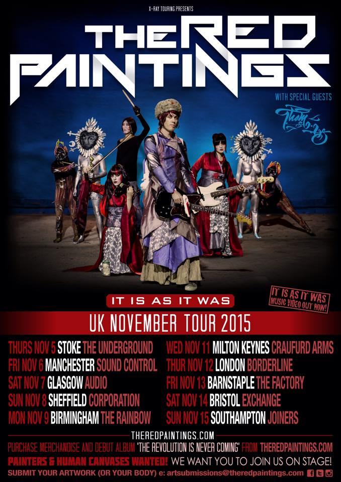 TRP UK tour