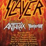slayer live poster