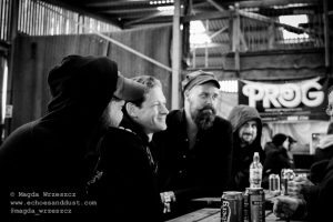 Caspian in interview with Echoes and Dust @ ArcTanGEnt 2016