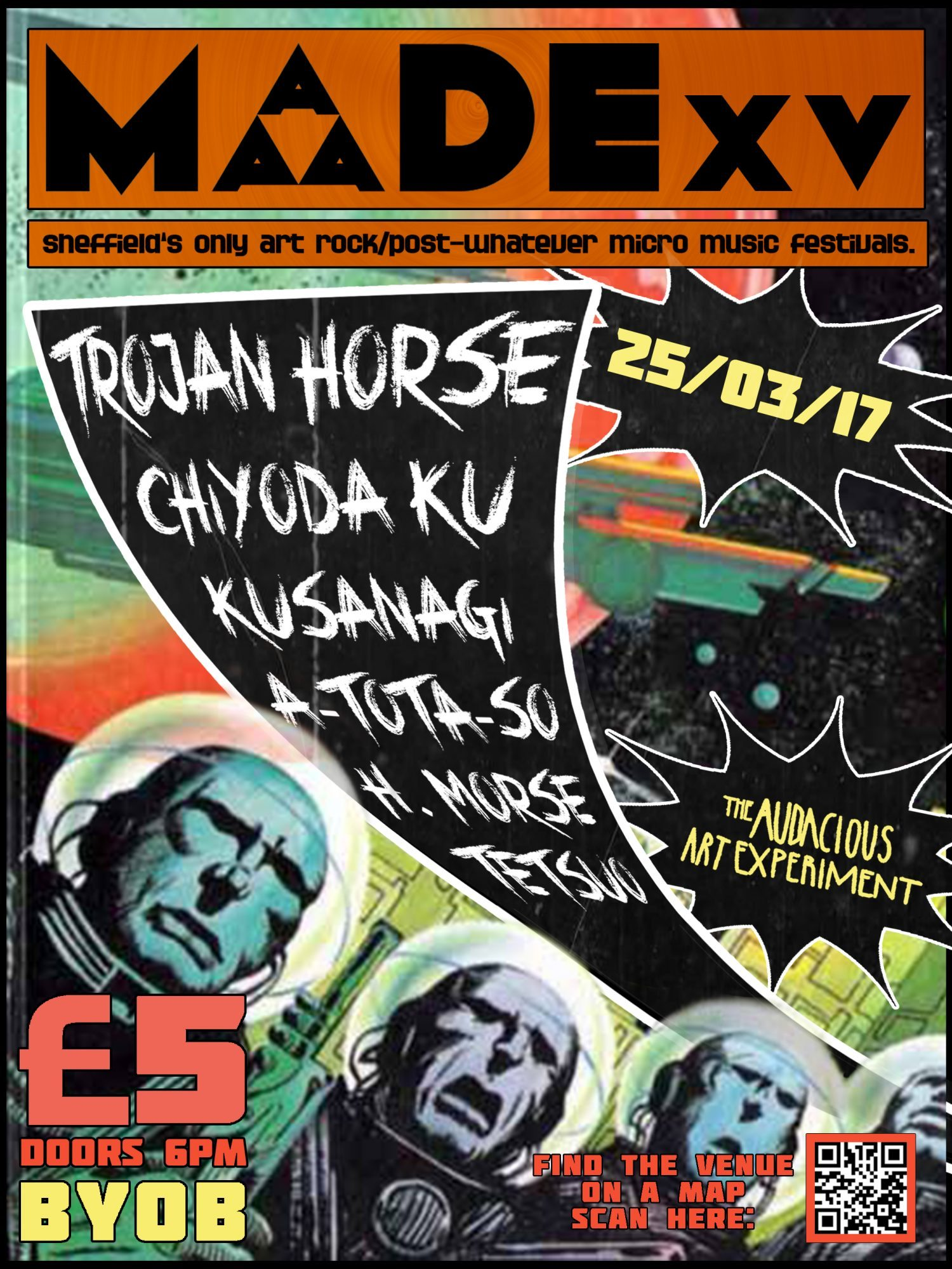 MADE XV: Trojan Horse & More