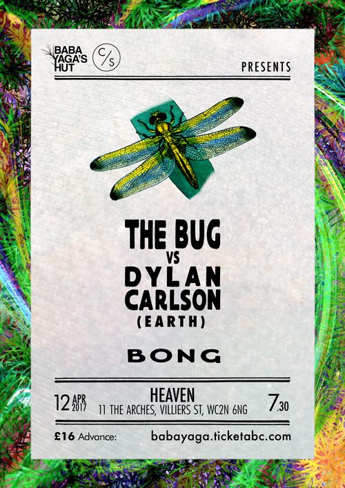 The Bug vs Dylan Carlson of Earth + Bong
