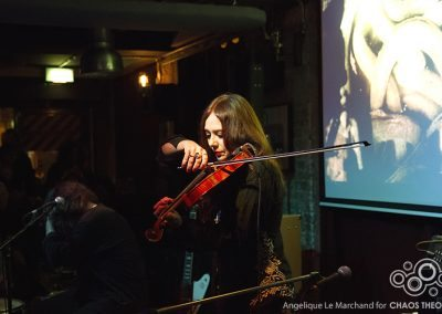 Alexander Hacke and Danielle De Picciotto @ Strongroom Bar