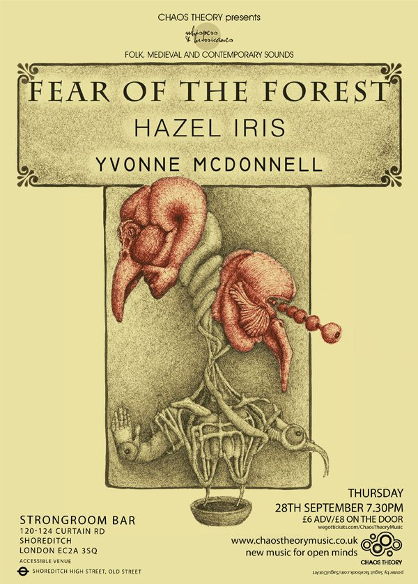Fear Of The Forest, Hazel Iris, Yvonne McDonnell