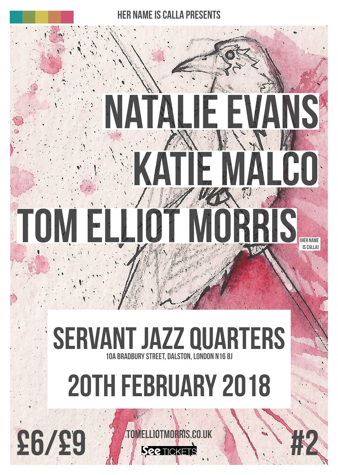 Natalie Evans, Katie Malco, Tom Elliot Morris