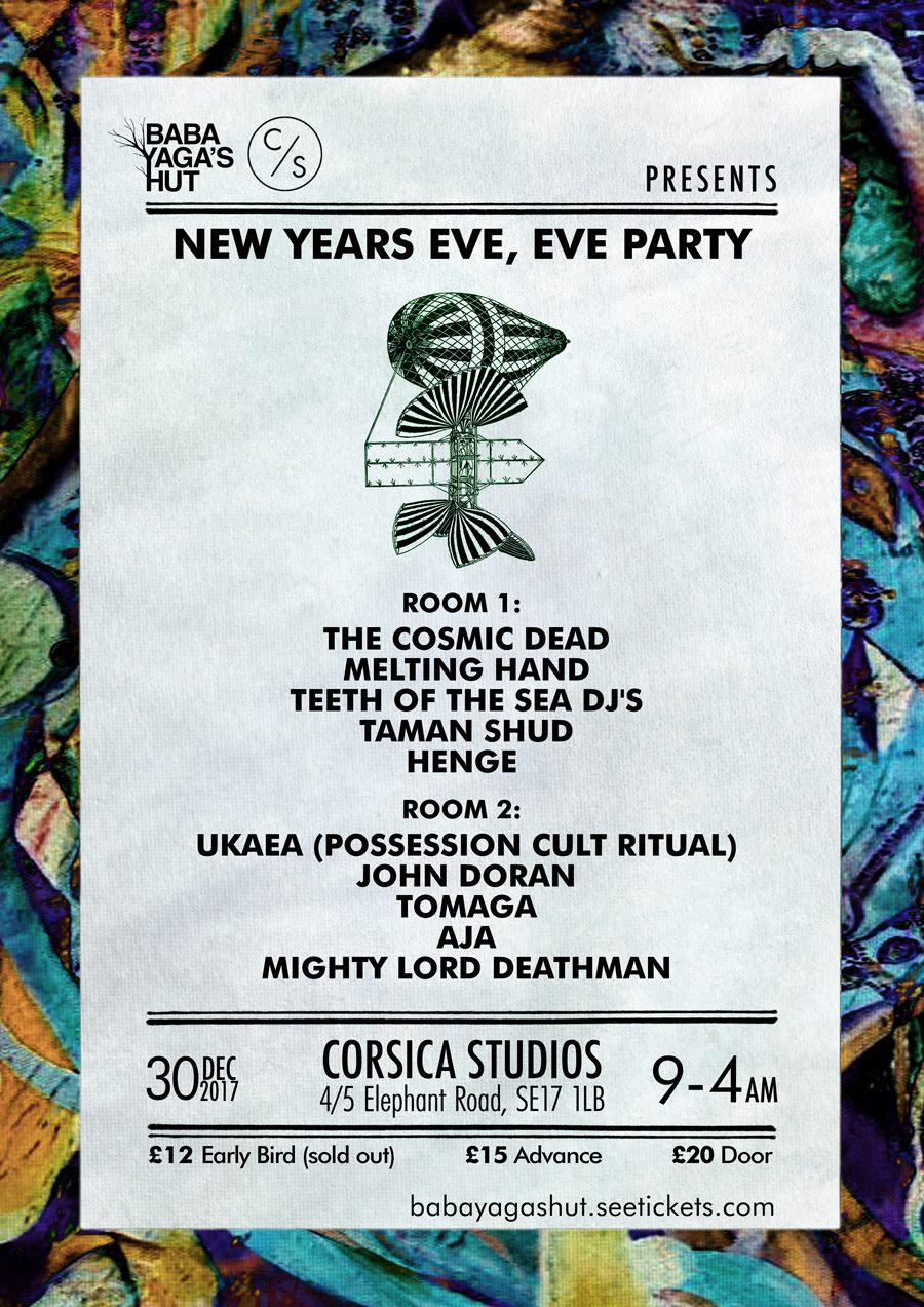 Baba Yaga's Hut New Year's Eve Eve