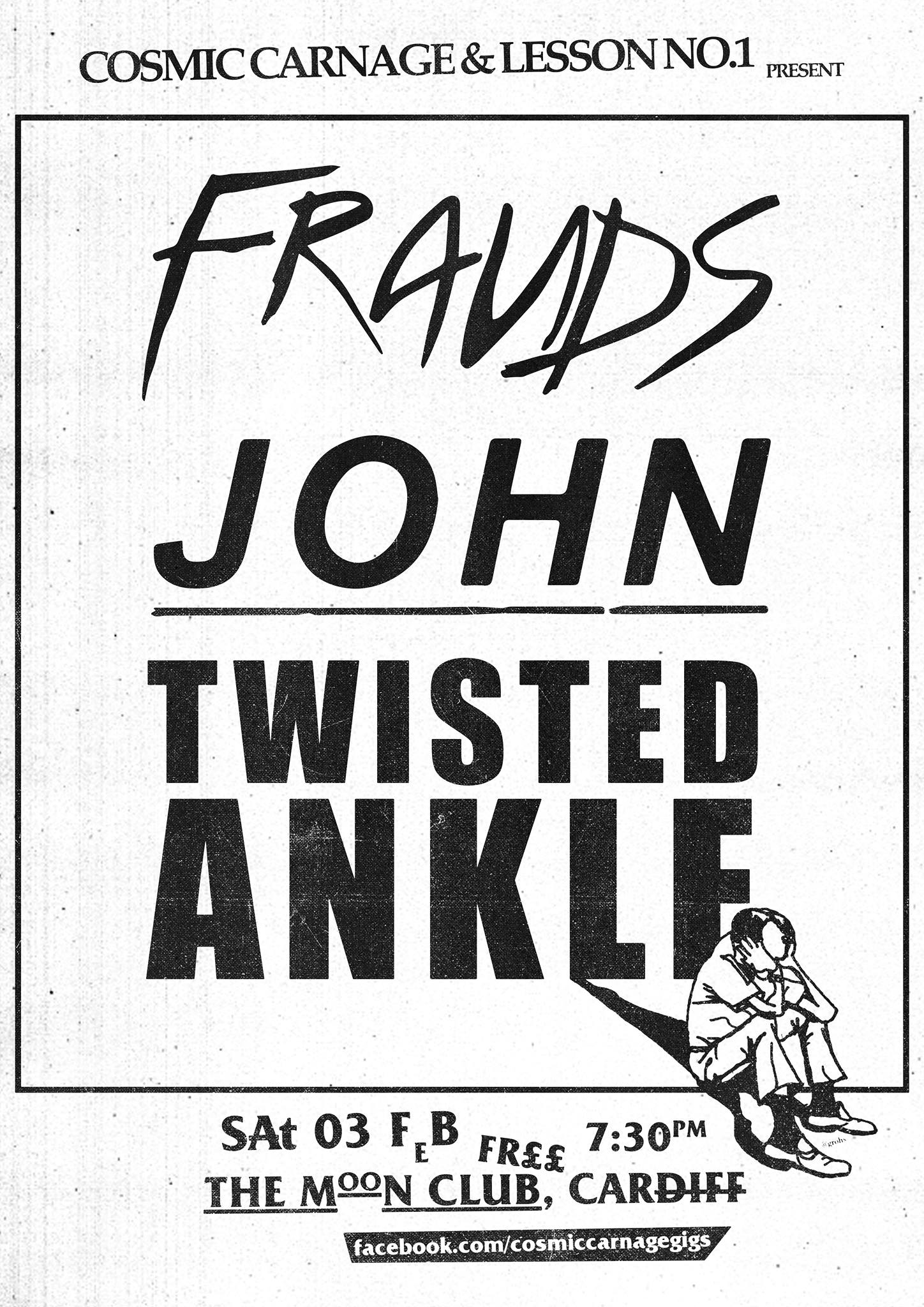 Frauds, John, Twisted Ankle